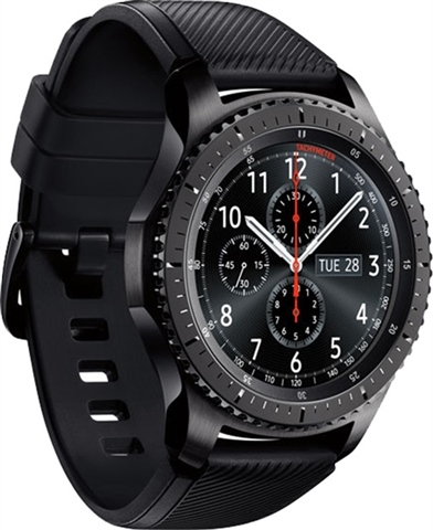 Samsung Galaxy Gear S3 Frontier Sm R760 Black A Cex Pt Buy Sell Donate